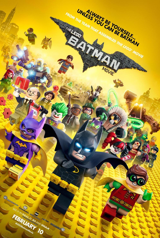 樂高蝙蝠俠電影 The Lego Batman Movie ---- 西影網 WSMY